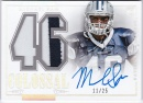 マイケル・サム 2014 National Treasures Rookie Colossal Number Patch Auto 11/25 Michael Sam