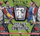 NBA 2017-18 Panini Totally Certified Basketball 12/13入荷!
