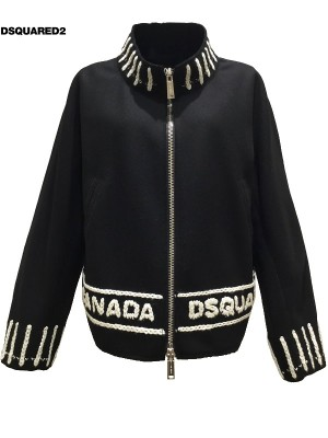DSQUARED2/ディースクエアード レディース Wool;Logo KARA 2019-20AW PRECOLLECTION