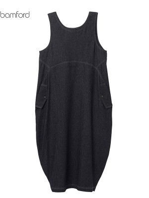 【SALE 30%OFF】bamford/バンフォード JEAN PINAFORE DRESS  2020-21AW COLLECTION