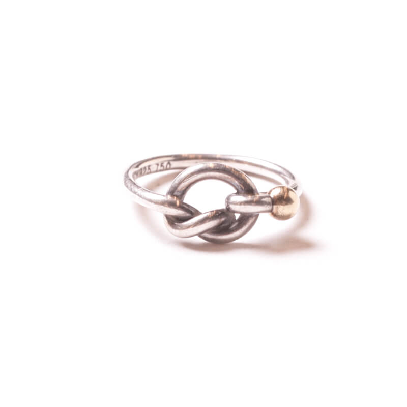 Used / Tiffany & Co. / Old Ring / Sterling Silver 925 × Gold