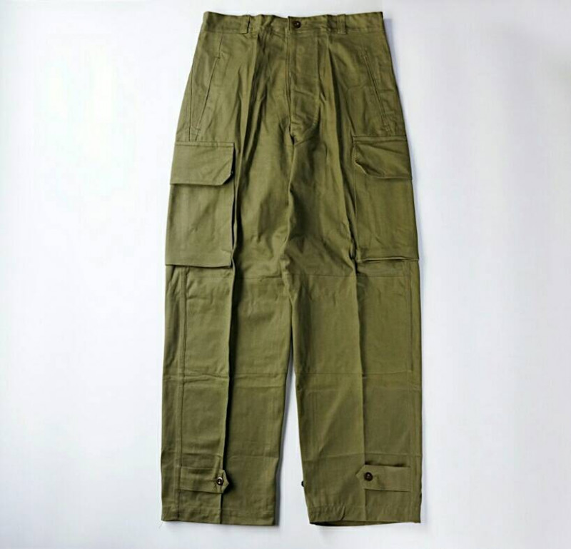 French Military / 1960's Deadstock / M-47 Cargo Pants / Non Wash