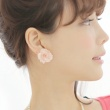 <セレクトショップ>chiffon flower earring (2color) (ピアス)